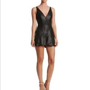 Dress the Population Sequin Romper